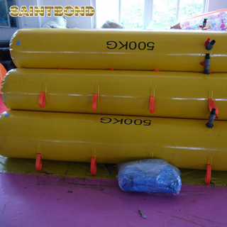 water bags 500kg test load testing bag marine 100 persons lifeboat