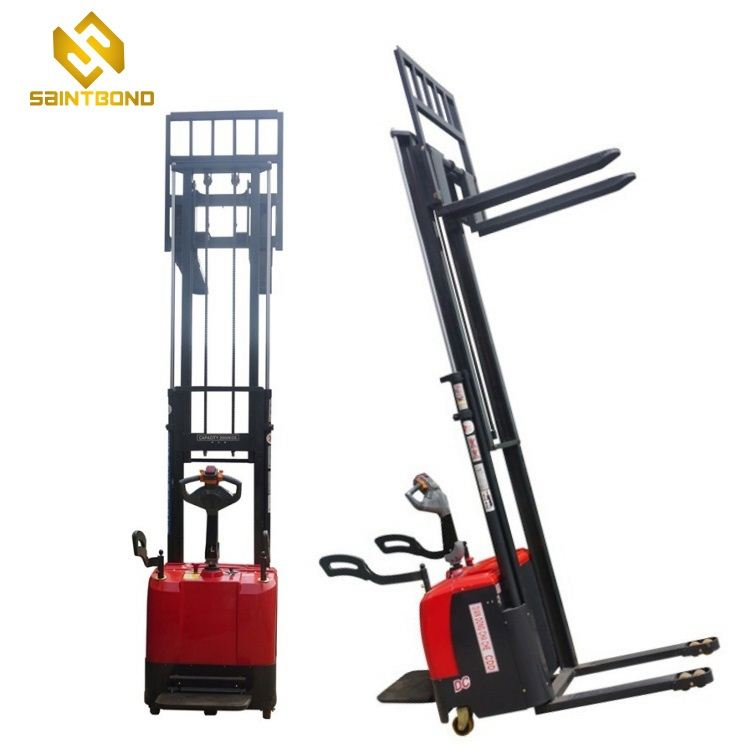 PSES11 2t warehouse high quality electric reach stacker for sale
