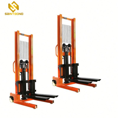 PSCTY02 Lift stacker truck hydraulic lifter manual forklift manual pallet stacker stable manual forklift
