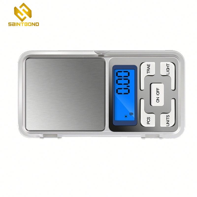 HC-1000B 200g/300g/500g x 0.01g Mini Pocket Digital Scale for Gold Jewelry Balance Gram Electronic Scales