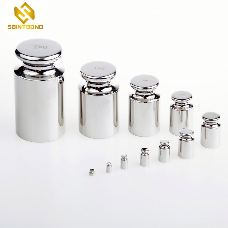 TWS01 5KGWeighing equipment steel chrome plated gram balance calibration weight for wholesale