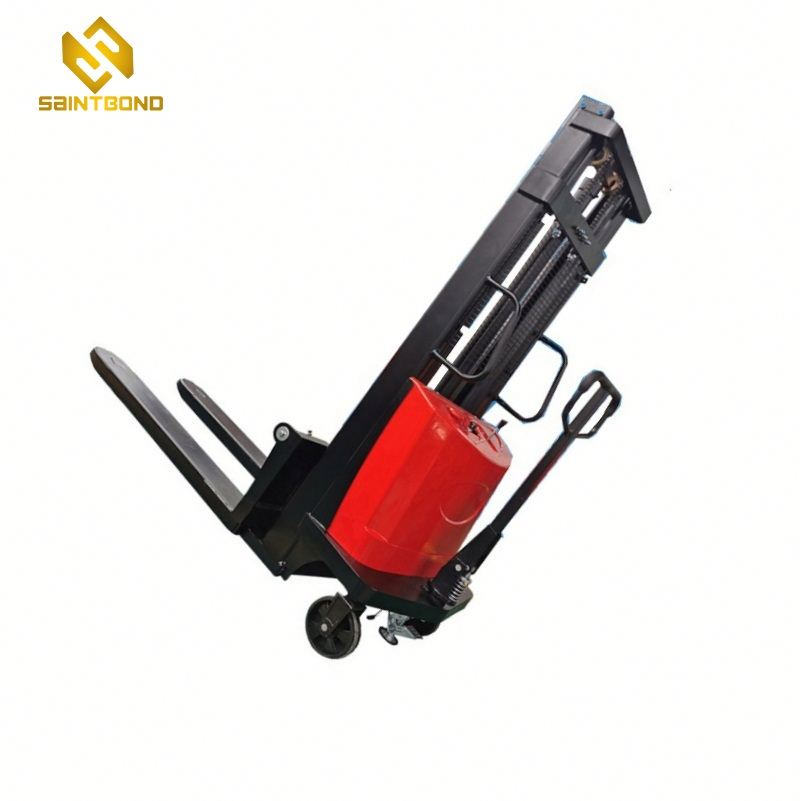 DYC Mini forklift 2200lbs 98inch lift height hot sale semi electric stacker