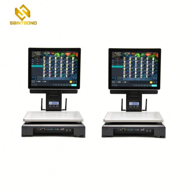 PCC01 Full Set 15 Inch Touch Screen Pos System/pos Terminal/cash Register With 80mm Thermal Printer