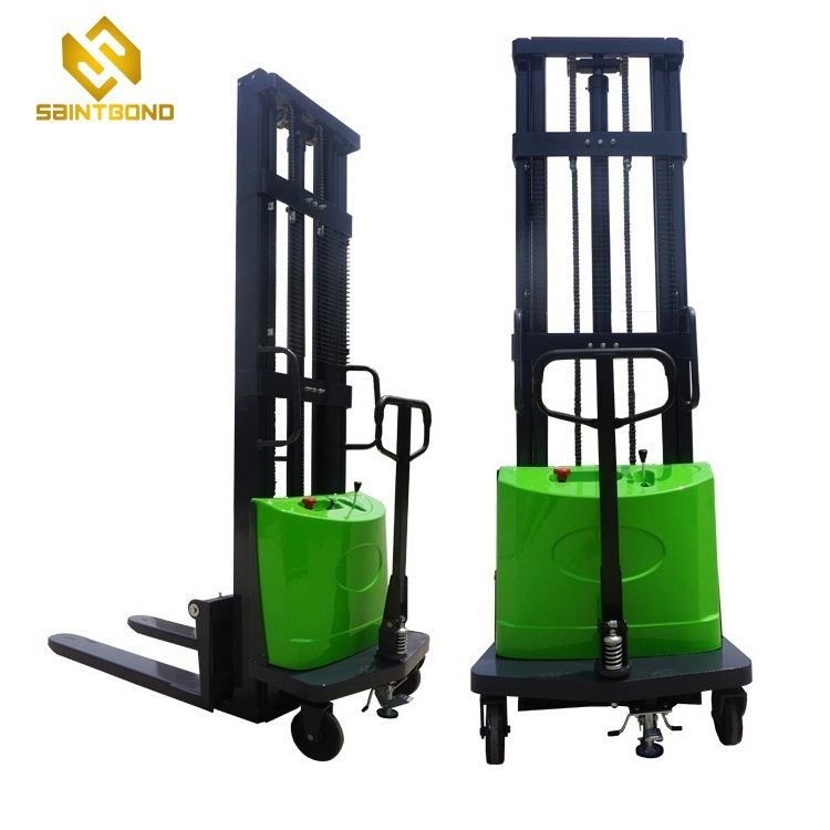 DYC 3000kg 6600lbs 3t 3 tons battery operated semi electric stacker semi electric fork lift 3 ton