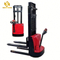 PSES11 small pallet truck forklift 2200lbs 118inch full electric walkie straddle stacker