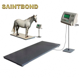 Cattle & Agricultural Livestock Weighing Systems horse weighbridge price Stainless Steel For Small Animal Scale