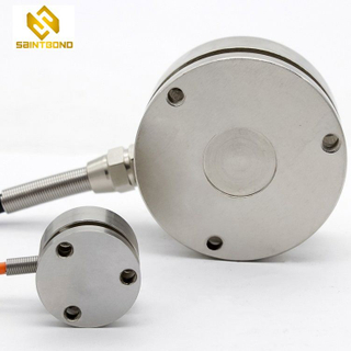 Mini009 Stainless Steel Wheel-Shaped Load Cell Sensor For Weighing Equipment 10Kg 1ton-3ton