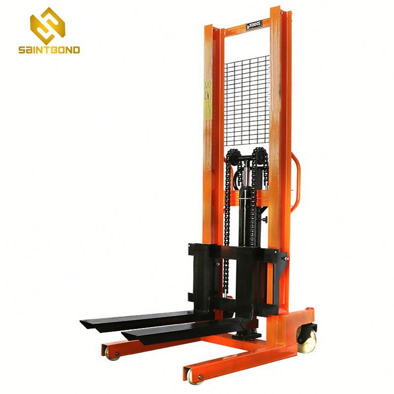 PSCTY02 1Ton Manual Pallet Stacker 1.6M Lifting Forklift