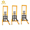 PSCTY02 Factory price forklift manual hydraulic mechanical lifter mini stacker machine
