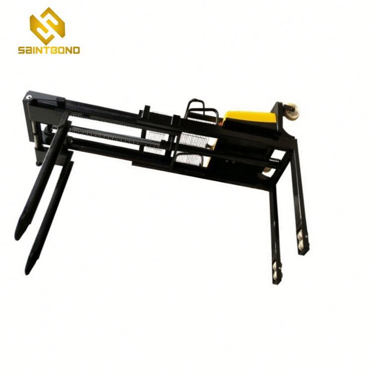 DYC 1.5ton semi electric forklift pallet stacker with best price