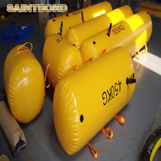 Pipe floater pipeline buoyancy bags water free fall life boat test bag GRP lifeboat