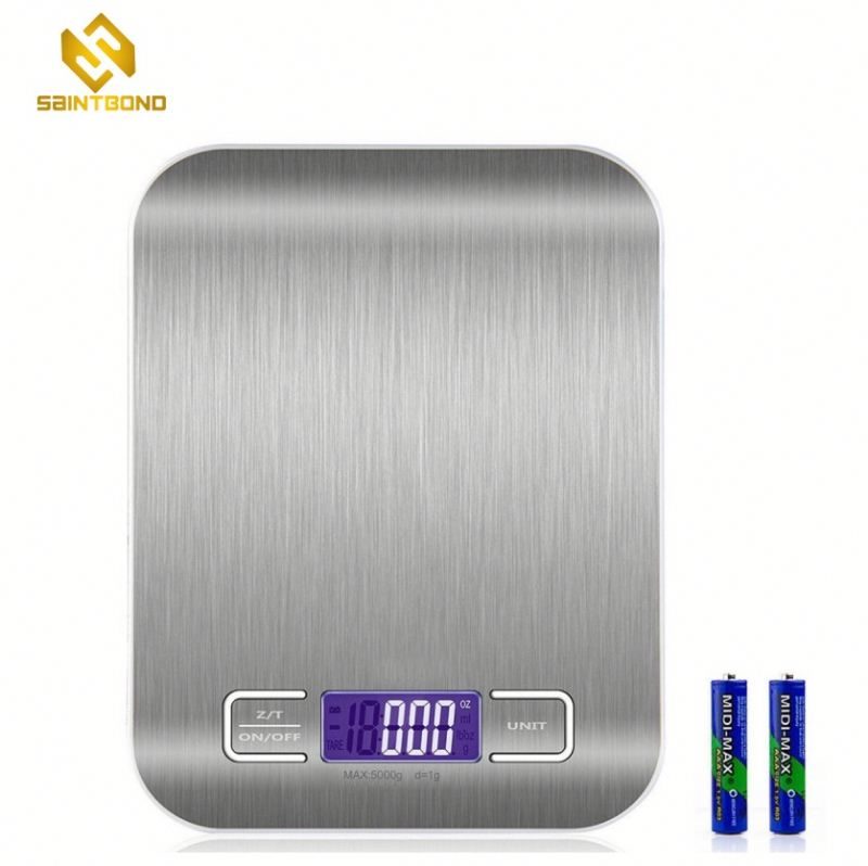 PKS001 Mini Electronic Kitchen Scale, Portable Digital Food Weighing
