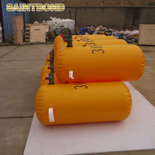 The best choice overload PVC test load pillow water bags for lifeboat weight bag