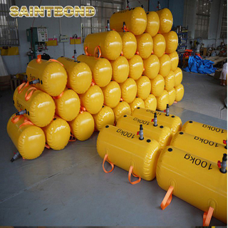 Professional manufacture Services PVC Bridge bags for test lifeboat load testing water bag pipeline buoyancy modules